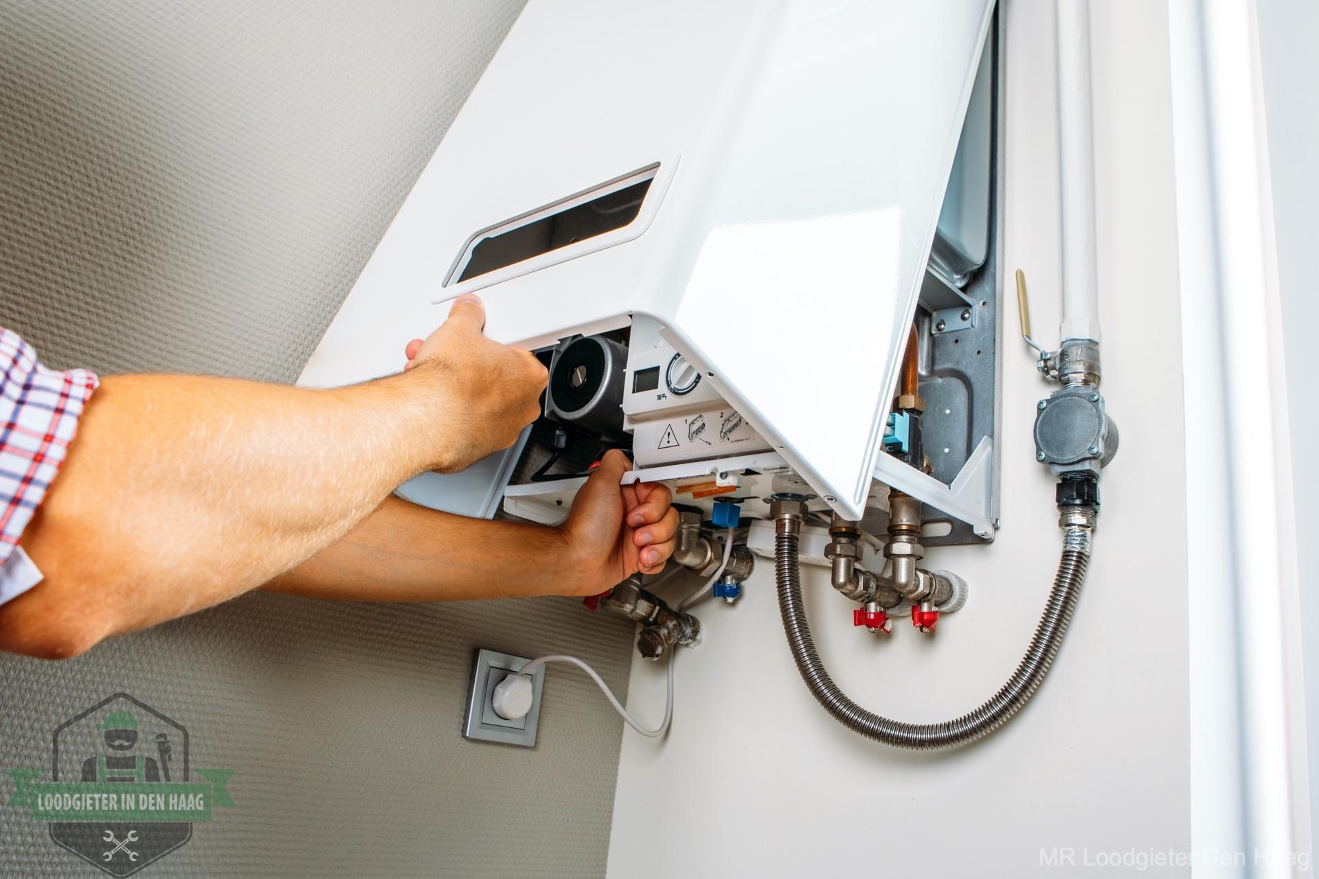 CV storing verhelpen loodgieter Den Haag