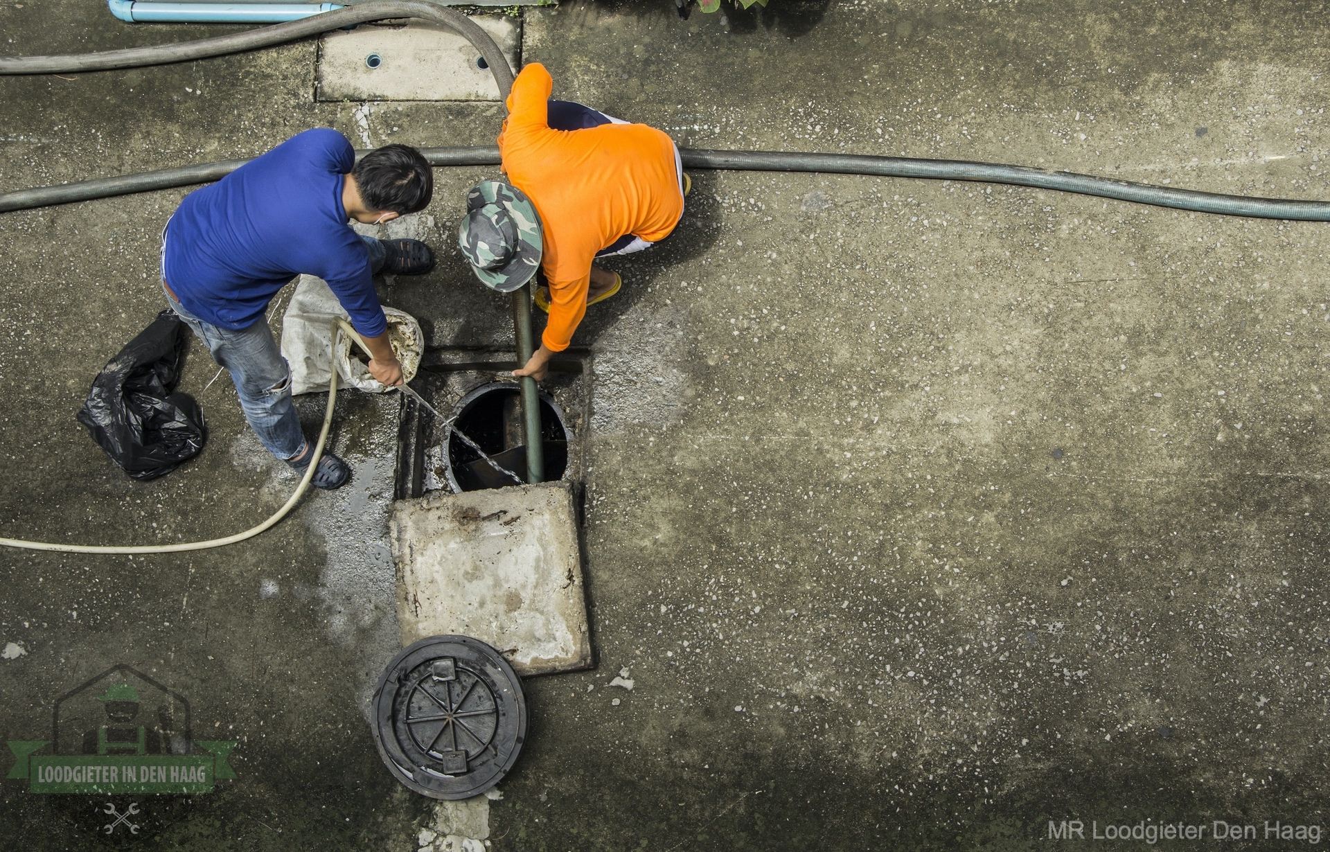 Riool inspectie loodgieter denhaag